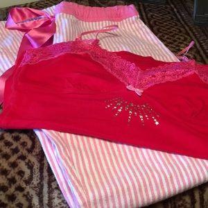 PINK Victoria Secret Pajama Set